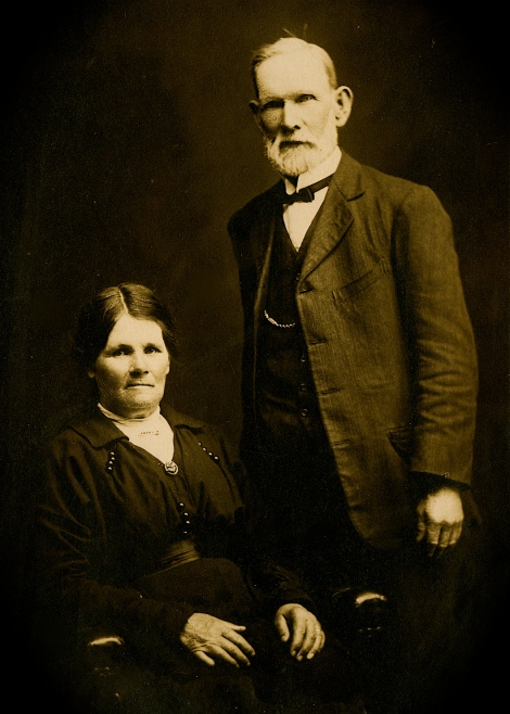 Mary Anne and William Hendry Pollock ca.1920