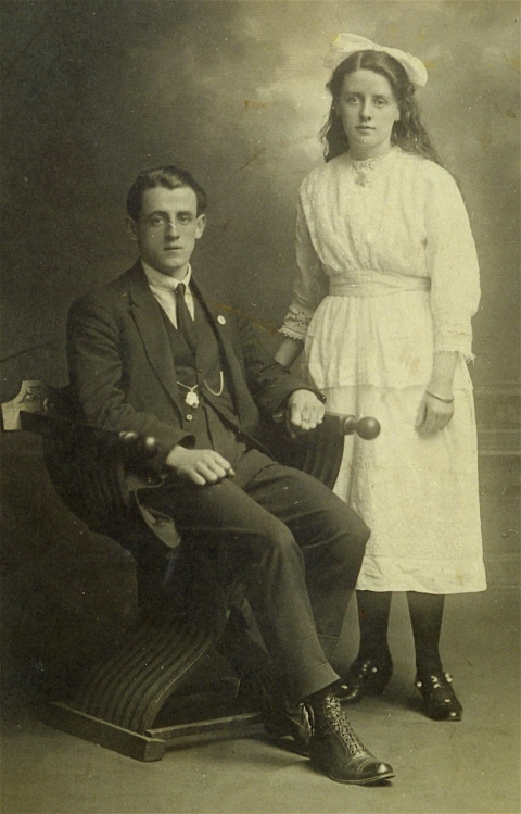 Wm Walsh & sister 0900